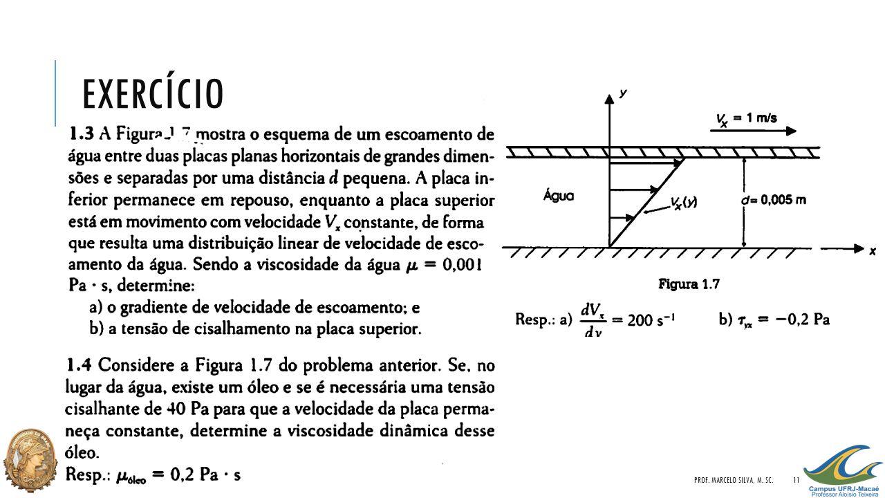 EXERCÍCIO PROF. MARCELO SILVA, M. SC.11