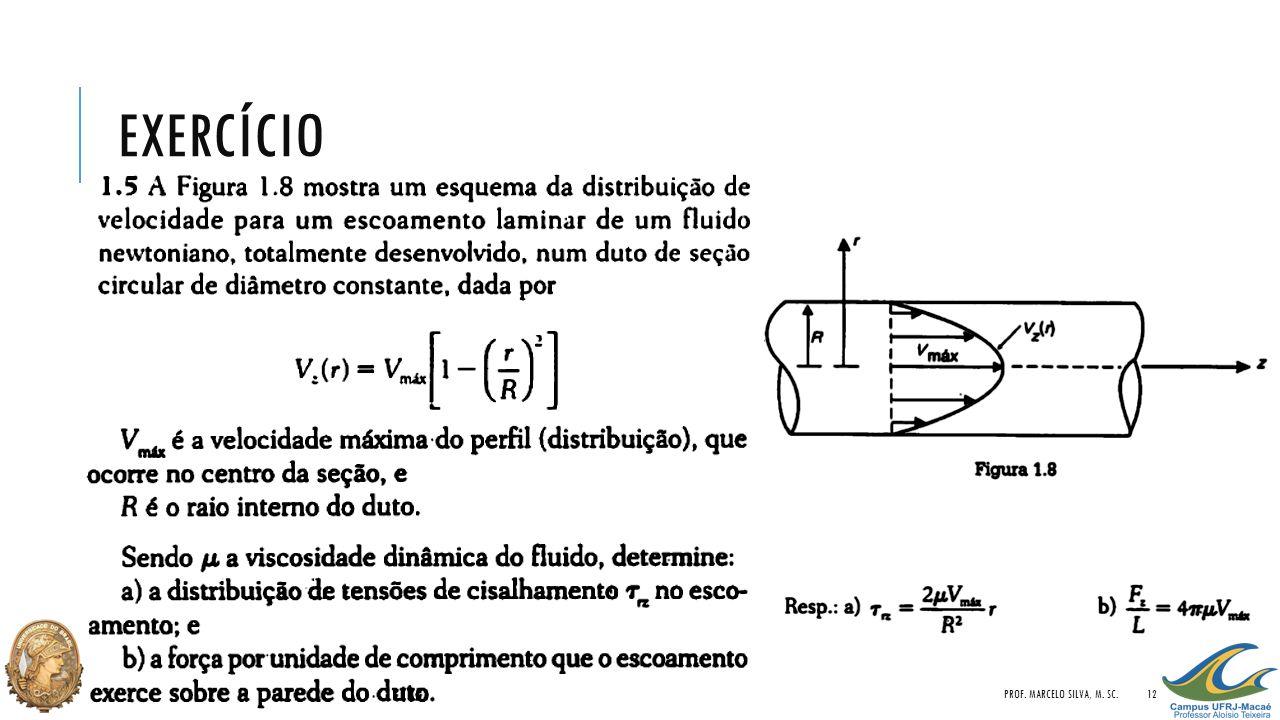 EXERCÍCIO PROF. MARCELO SILVA, M. SC.12