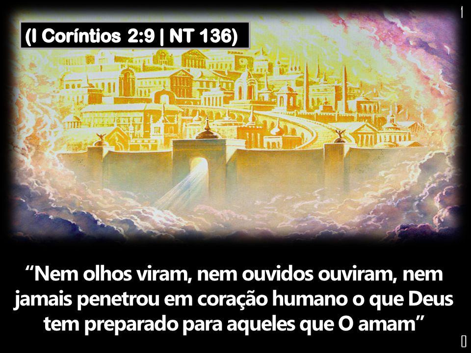 Nem olhos viram, nem ouvidos ouviram, nem jamais penetrou em coração humano o que Deus tem preparado para aqueles que O amam