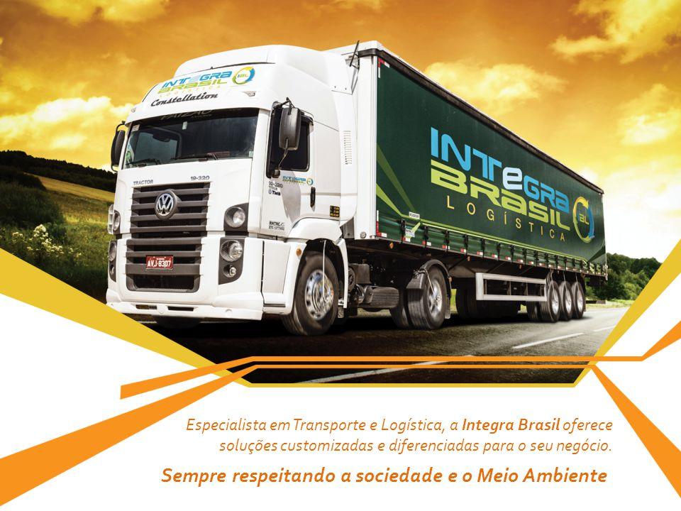 Especialista em Transporte e Logística, a Integra Brasil oferece soluções customizadas e diferenciadas para o seu negócio. Sempre respeitando a socied