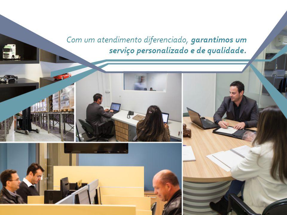 Com um atendimento diferenciado, garantimos um serviço personalizado e de qualidade.