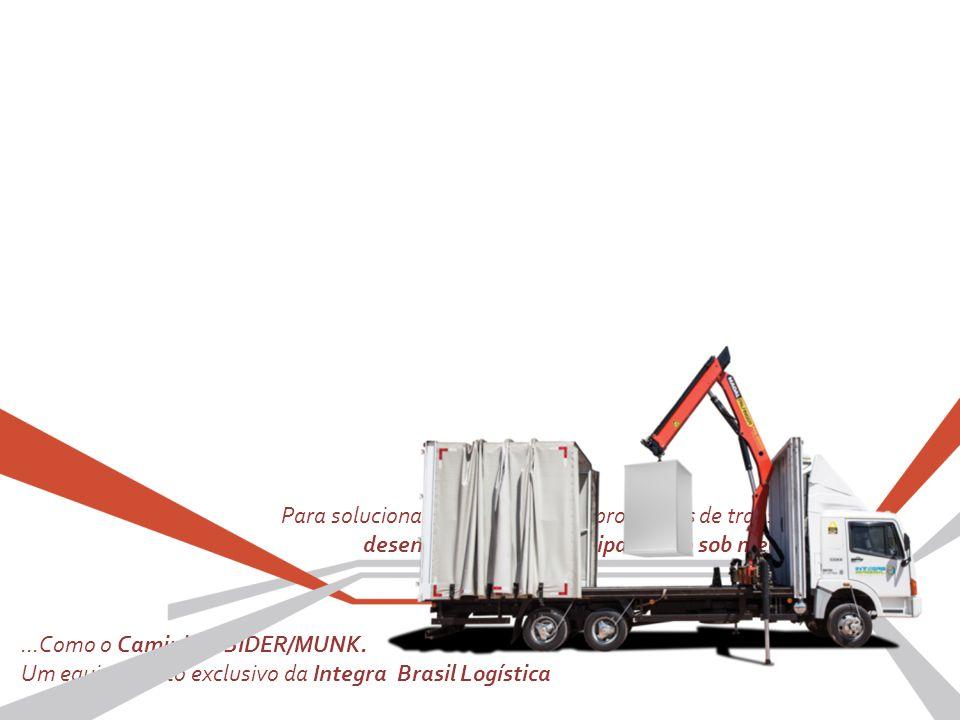 Para solucionar os mais diversos problemas de transporte, desenvolvemos um equipamento sob medida......Como o Caminhão SIDER/MUNK. Um equipamento excl