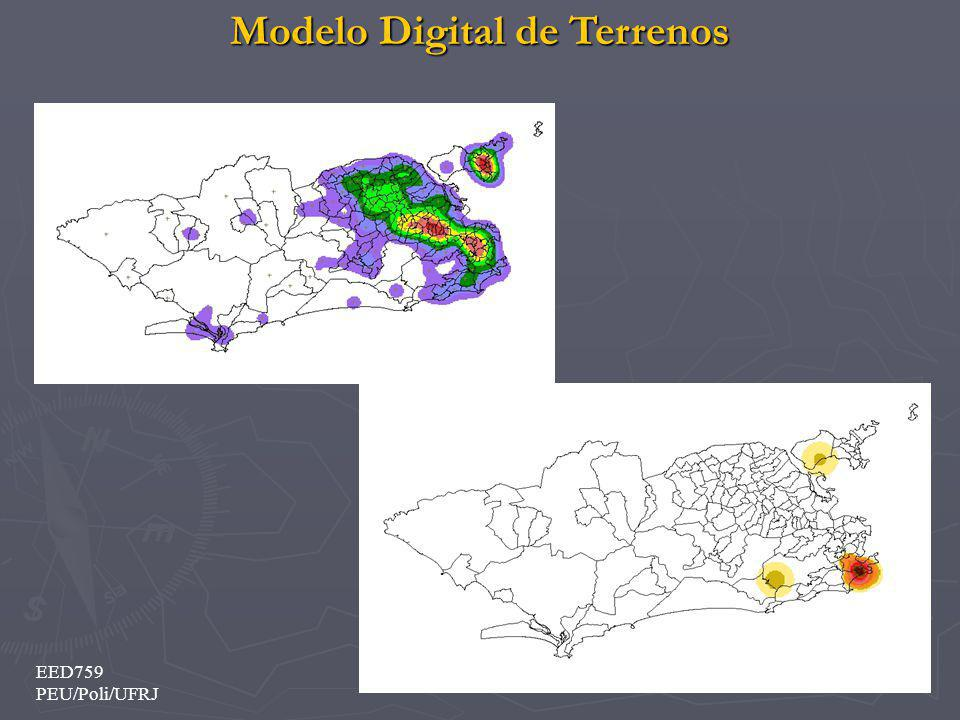 Modelo Digital de Terrenos 20 EED759 PEU/Poli/UFRJ