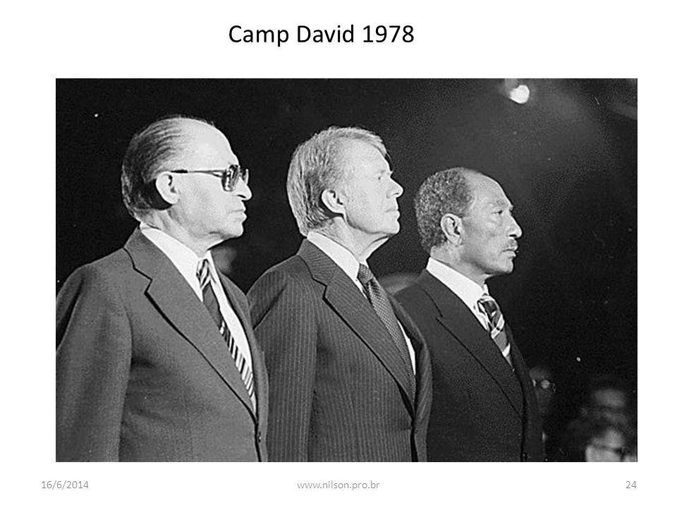Camp David 1978 16/6/201424www.nilson.pro.br