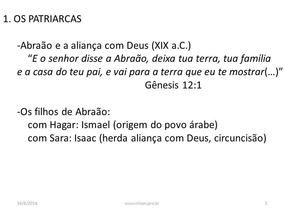 Abrão expulsa Hagar e Ismael, Guercino 16/6/20144www.nilson.pro.br