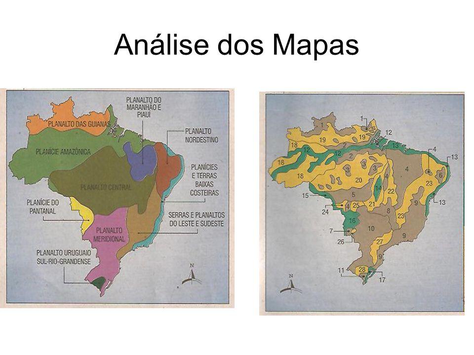 Análise dos Mapas