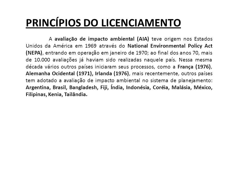 AS LICENÇAS SERÃO REALIZADAS EM UM ÚNICO NÍVEL DE COMPETÊNCIA TIPOS DE LICENÇA LICENÇA PRÉVIA (LP): LICENÇA DE INSTALAÇÃO (LI): LICENÇA DE OPERAÇÃO (LO): AS LICENÇAS PODEM SER EXPEDIDAS DE FORMA ISOLADA OU SUCESSIVA DE ACORDO COM A NATUREZA OU PECULIARIDADE DA ATIVIDADE O CONAMA PODE DEFINIR LICENÇAS ESPECÍFICAS(*)