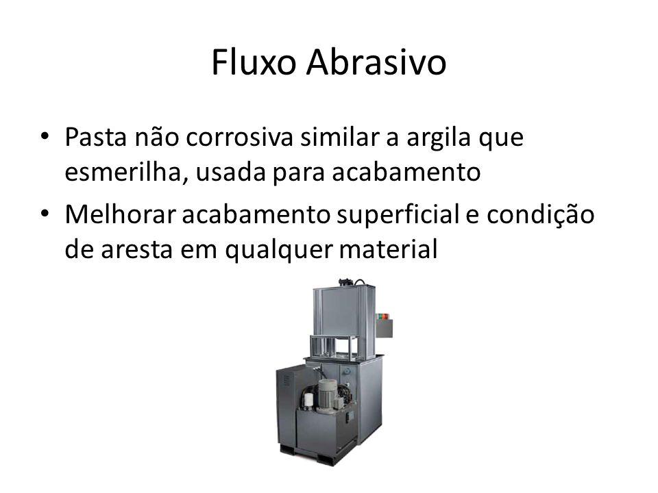 Fluxo Abrasivo Pasta não corrosiva similar a argila que esmerilha, usada para acabamento Melhorar acabamento superficial e condição de aresta em qualq