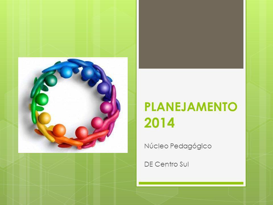 PLANEJAMENTO 2014 Núcleo Pedagógico DE Centro Sul