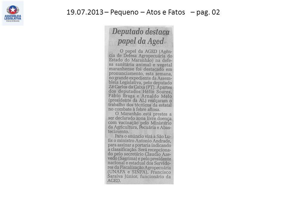18.07.2013 – O Estado – Politica – pag. 03