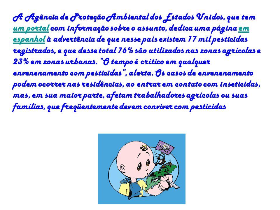 A Agência de Proteção Ambiental dos Estados Unidos, que tem um portal com informação sobre o assunto, dedica uma página em espanhol à advertência de q