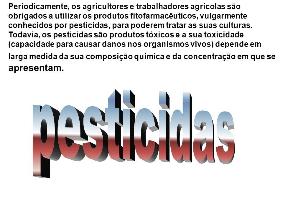 Periodicamente, os agricultores e trabalhadores agrícolas são obrigados a utilizar os produtos fitofarmacêuticos, vulgarmente conhecidos por pesticidas, para poderem tratar as suas culturas.