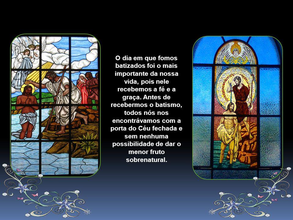 O Senhor desejou ser batizado, diz Santo Agostinho, para proclamar com a sua humildade o que para nós era uma necessidade. Com o batismo de Jesus, fic