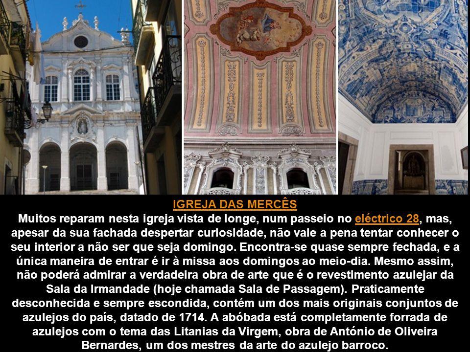 CAPELA DE SANTO AMARO Esta capela fundada em 1549, dedicada a Santo Amaro, é uma das maiores curiosidades artísticas da cidade, mas está agora completamente esquecida.
