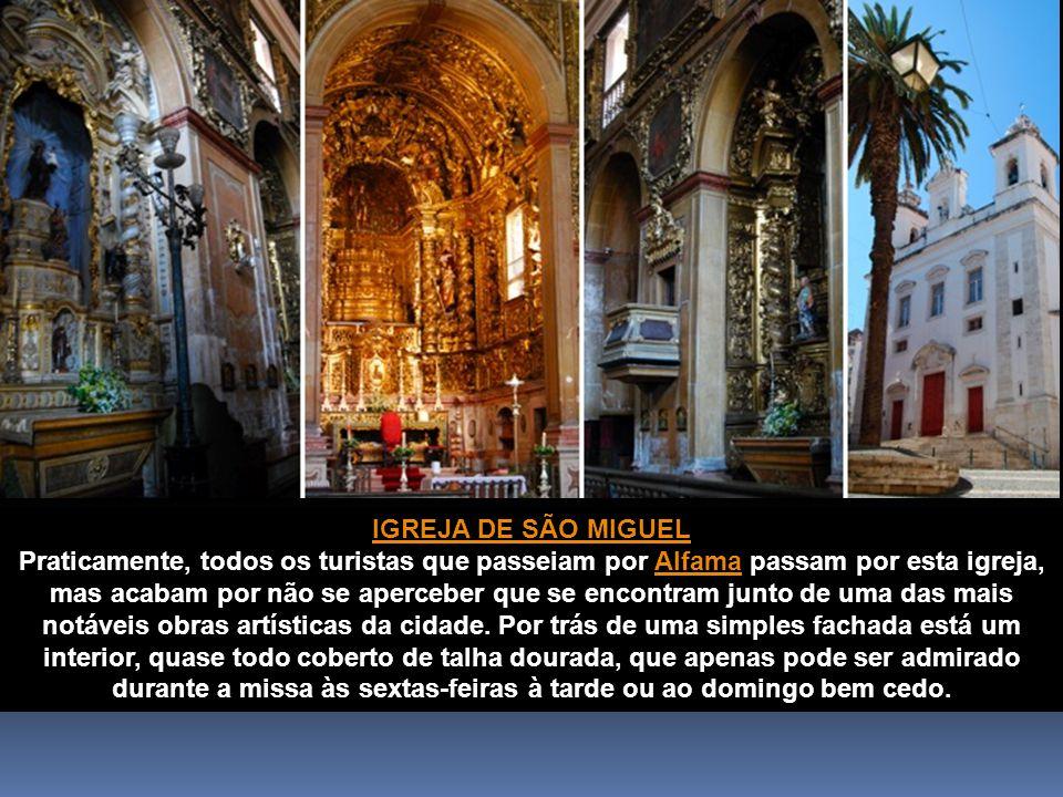 IGREJA DO CONVENTO DA ENCARNAÇÃO Apesar de ser uma das obras mais ricas do país, em talha dourada, a igreja deste convento permanece um tesouro bem escondido.