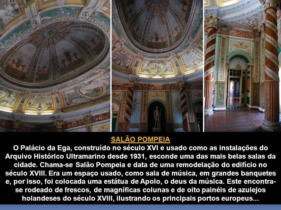 Muitos dos interiores mais magníficos de Lisboa não se encontram abertos como atrações turísticas.