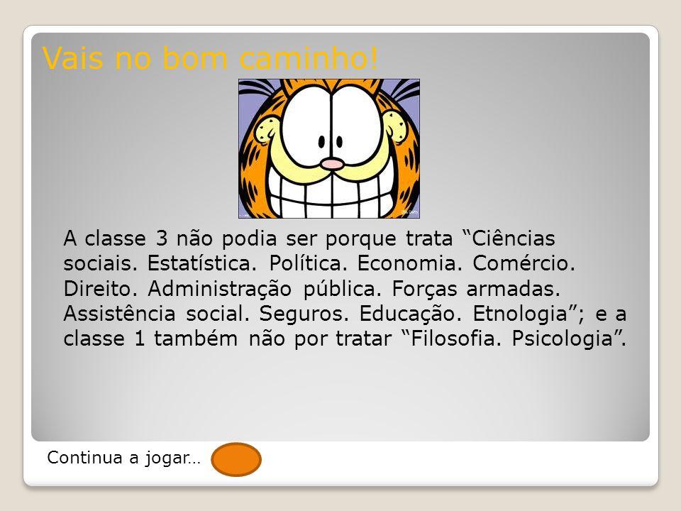 A classe 9, ao contrário de outras classes, caracteriza-se por compreender assuntos que se encontram semanticamente muito próximos, sendo que algumas