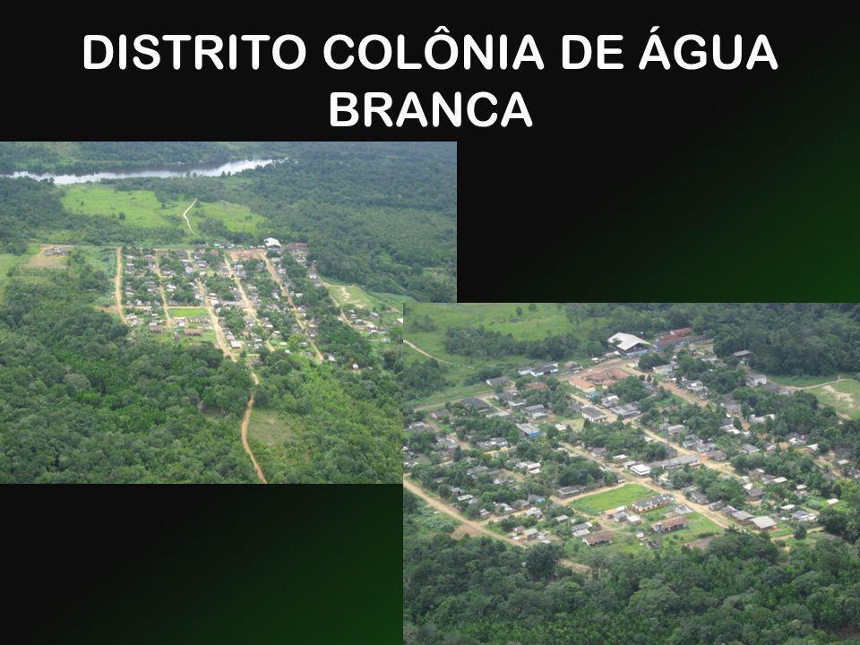 DISTRITO COLÔNIA DE ÁGUA BRANCA