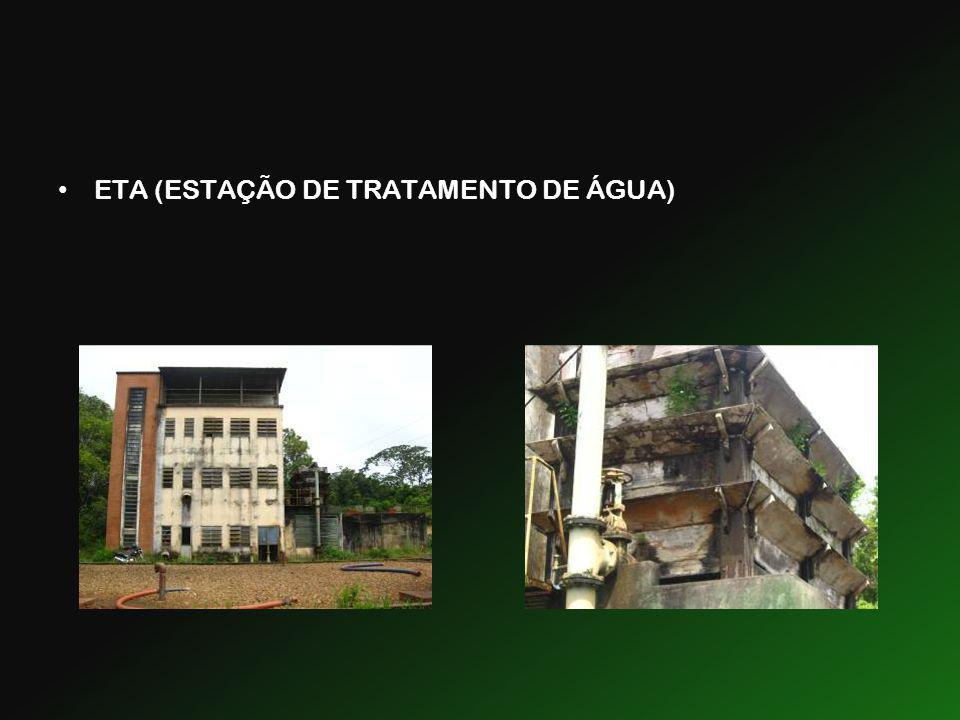 ETA (ESTAÇÃO DE TRATAMENTO DE ÁGUA)