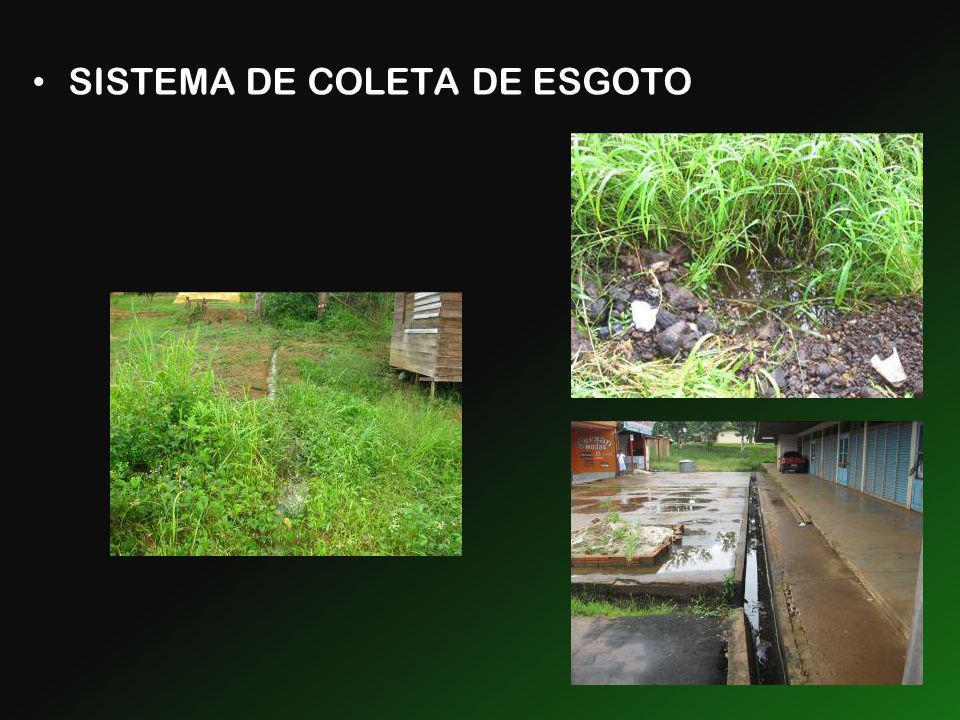 SISTEMA DE COLETA DE ESGOTO