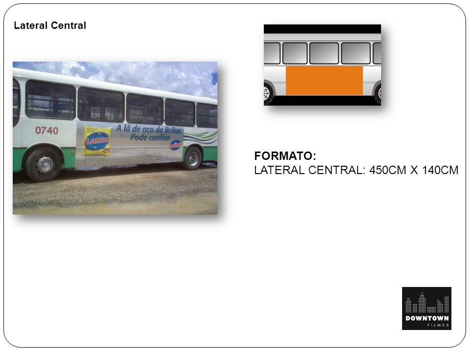 Lateral Central FORMATO: LATERAL CENTRAL: 450CM X 140CM
