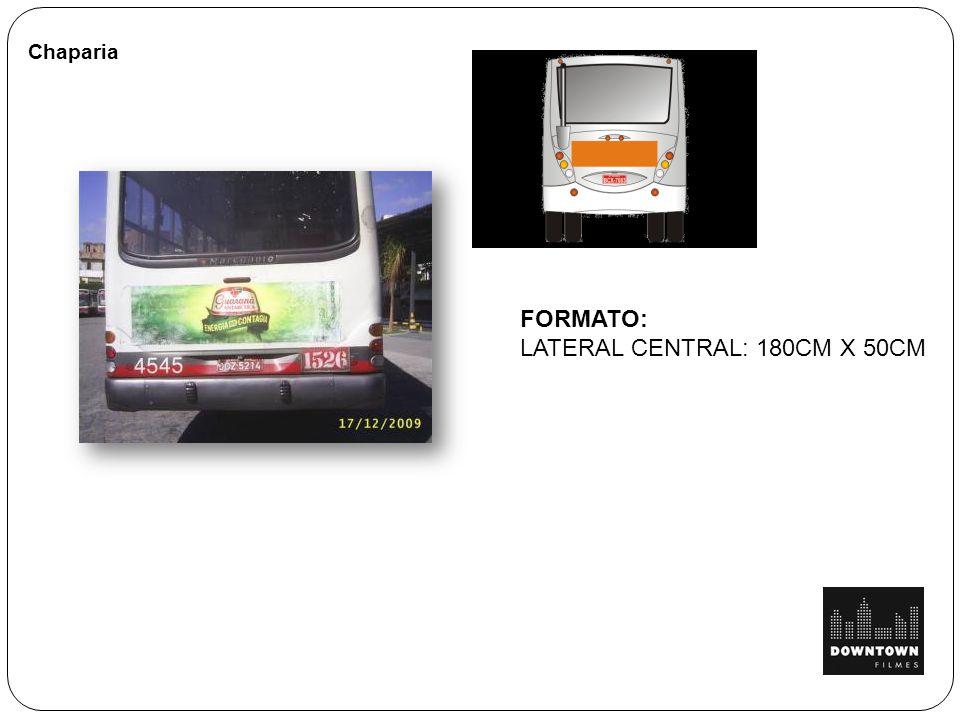 Chaparia FORMATO: LATERAL CENTRAL: 180CM X 50CM