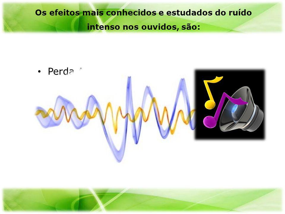 Perda Auditiva Zumbidos Recrutamento Os efeitos mais conhecidos e estudados do ruído intenso nos ouvidos, são: