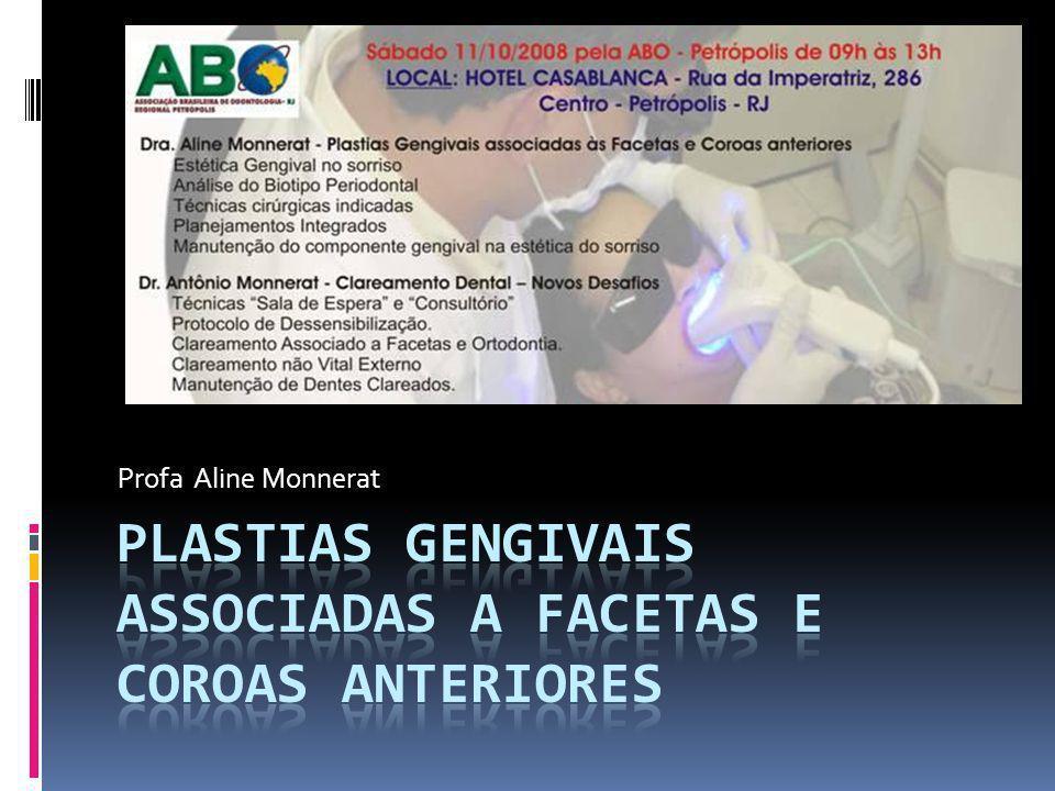 Especialista em Periodontia Mestre em Odontologia Social Especialista em Odontologia do Trabalho Profa.