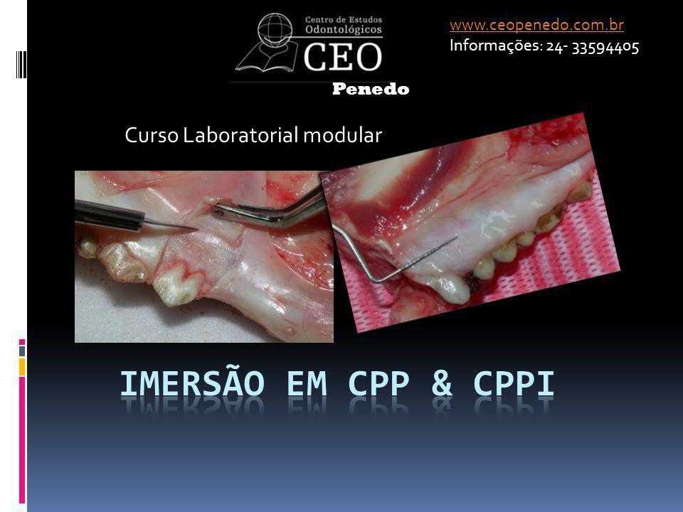 Curso Laboratorial modular www.ceopenedo.com.br Informações: 24- 33594405