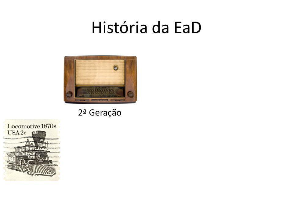 História da EaD 2ª Geração