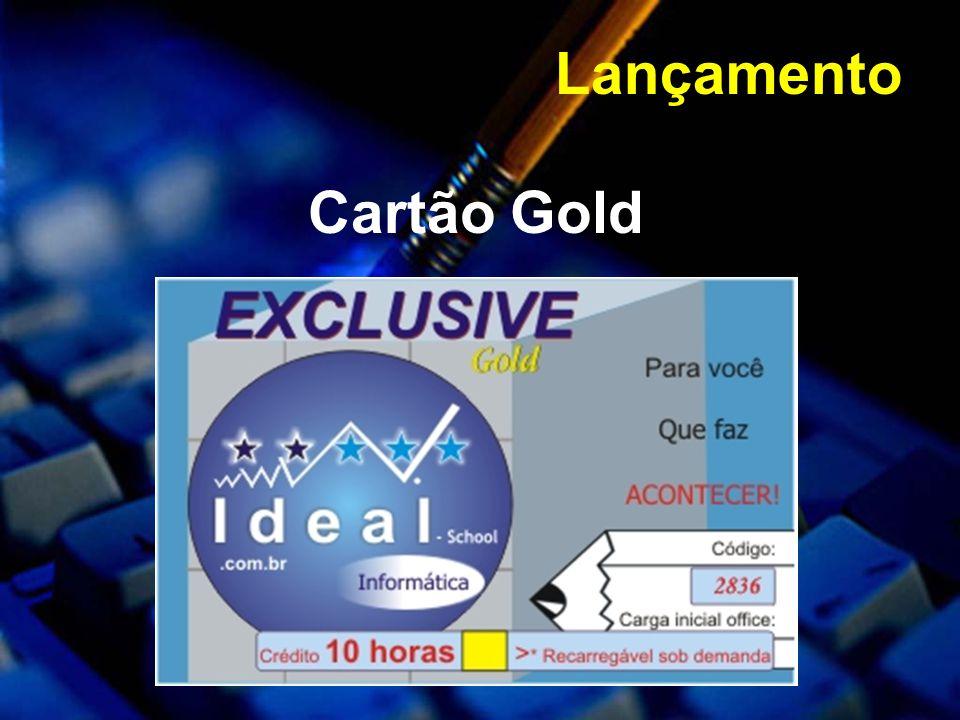Lançamento Cartão Gold