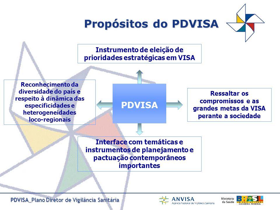 PDVISA_Plano Diretor de Vigilância Sanitária Descentralização, regionalização, planejamento, financiamento, Programação Pactuada Integrada, regulação da atenção à saúde e regulação assistencial, gestão do trabalho na saúde, educação na saúde.