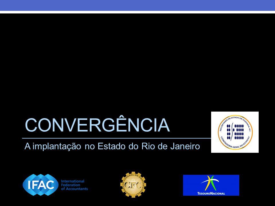 CONVERGÊNCIA A implantação no Estado do Rio de Janeiro