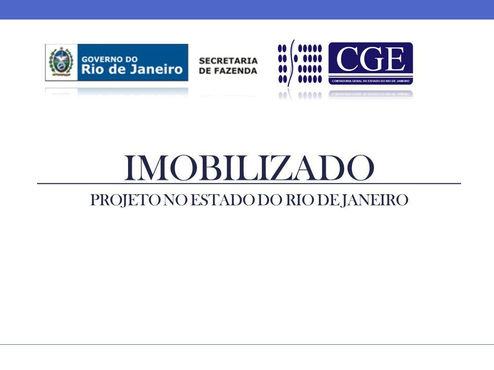 IMOBILIZADO PROJETO NO ESTADO DO RIO DE JANEIRO