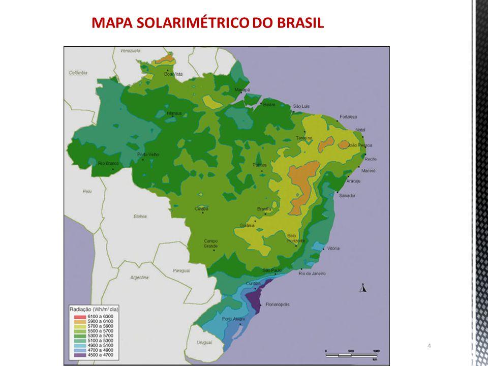 4 MAPA SOLARIMÉTRICO DO BRASIL