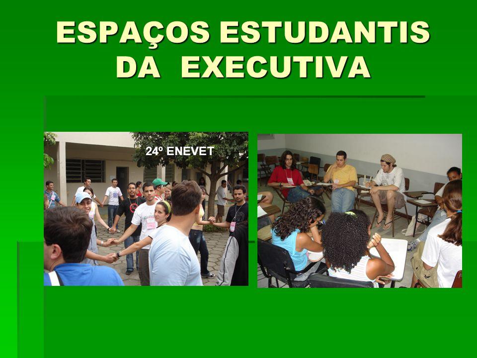 ESPAÇOS ESTUDANTIS DA EXECUTIVA 24º ENEVET