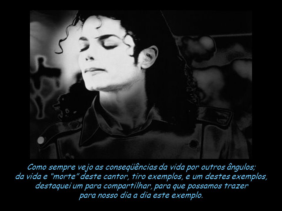 O comentário da mídia destes últimos dias é a morte do cantor, compositor, ator, dançarino publicitário, escritor, produtor, diretor, poeta, instrumen