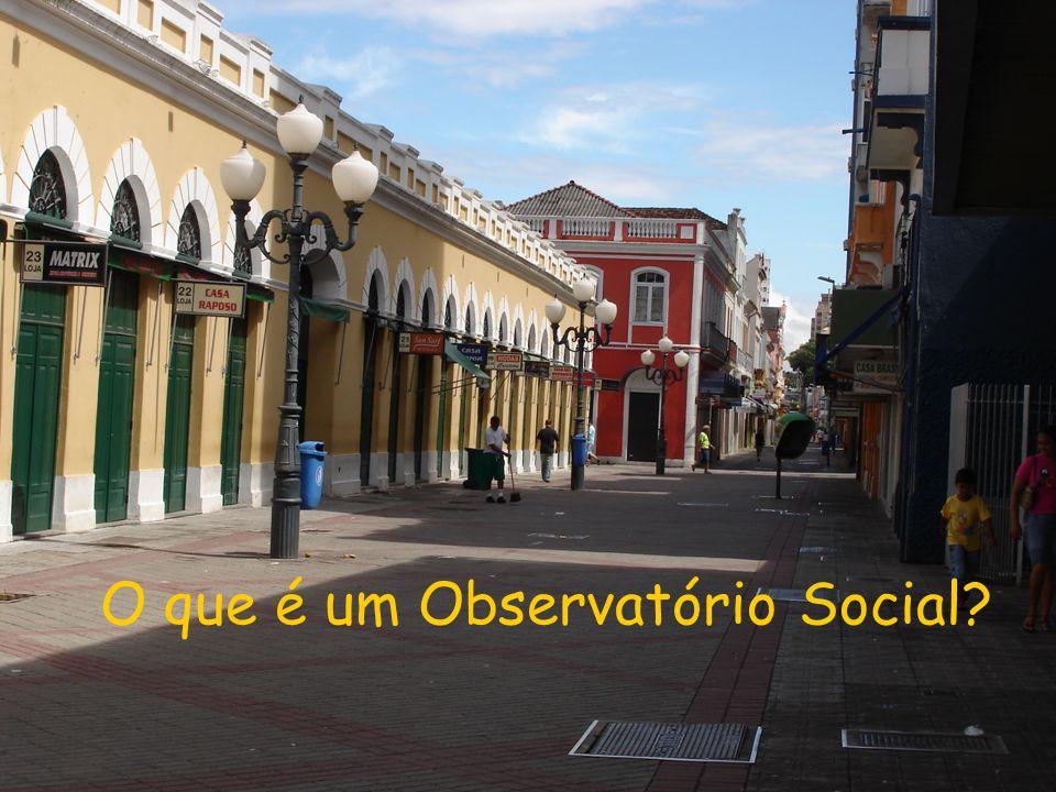 O que é um Observatório Social?