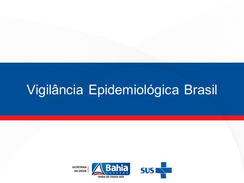 Vigilância Epidemiológica Brasil