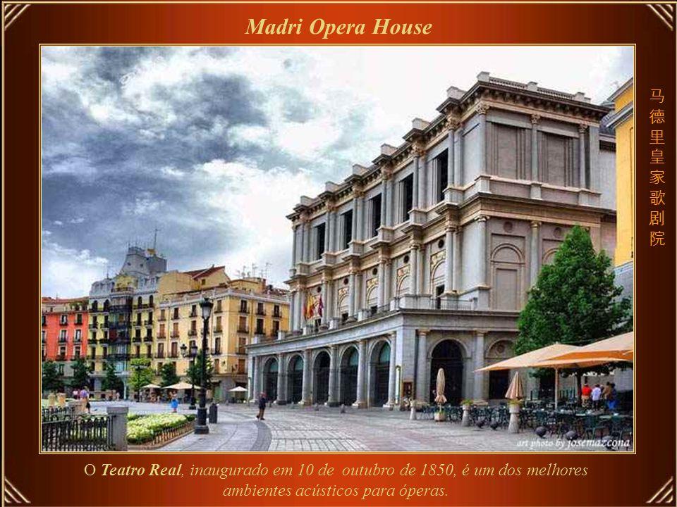 Royal Opera House – principal local de apresentação de artes, localizado no Distrito de Covent Garden, é uma das mais importantes casas de ópera do mundo.