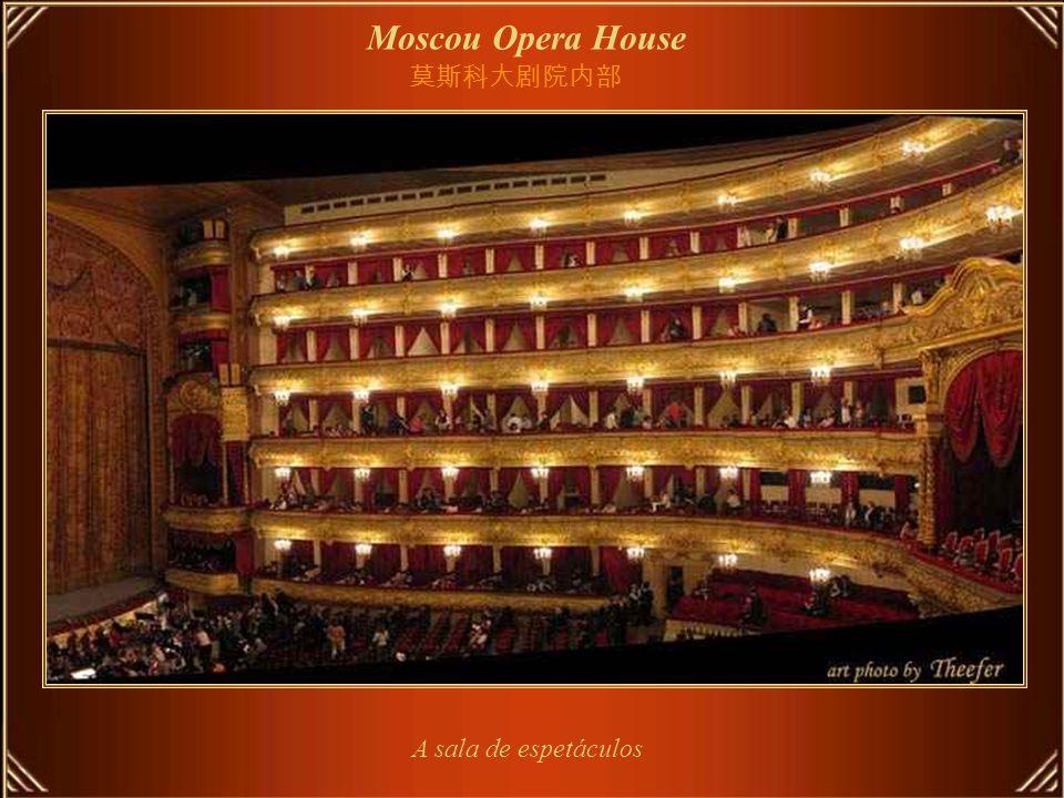 Moscou Opera House Escadarias