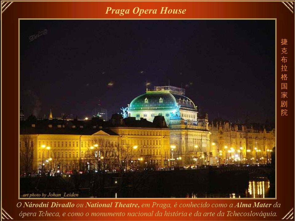 Don Giovanni - Mozart Teatro do Estado de Praga – acolheu a première da ópera Don Giovanni de Mozart, em 29 de outubro de 1787