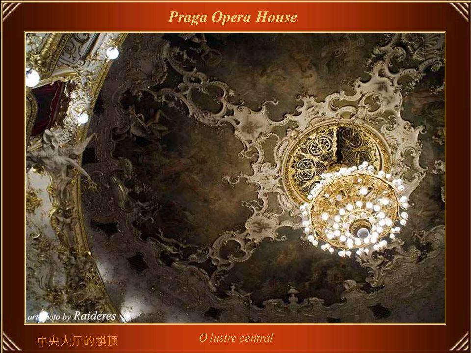 O grande salão Praga Opera House