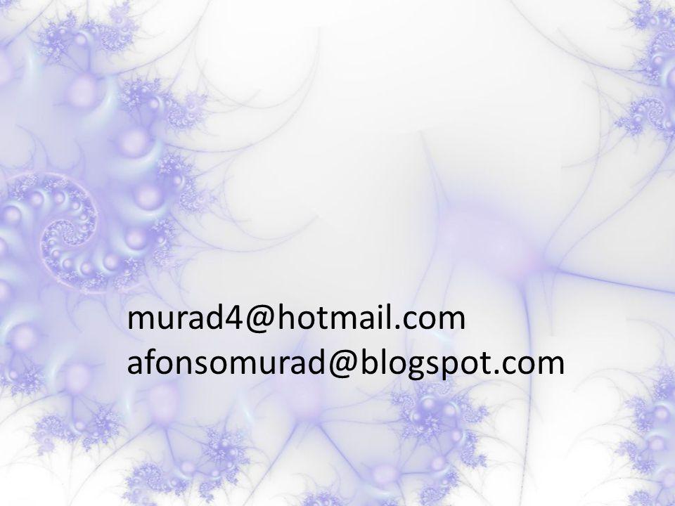 murad4@hotmail.com afonsomurad@blogspot.com