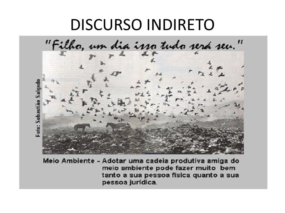 DISCURSO INDIRETO