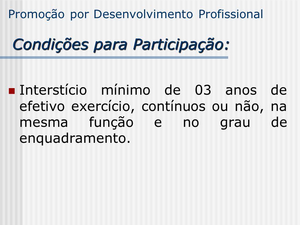 ADPQualificação Pontuação mínima Somatória Nos últimos 3 processos Nos 3 últimos períodos de interstício 37,5 pontos4 pontos