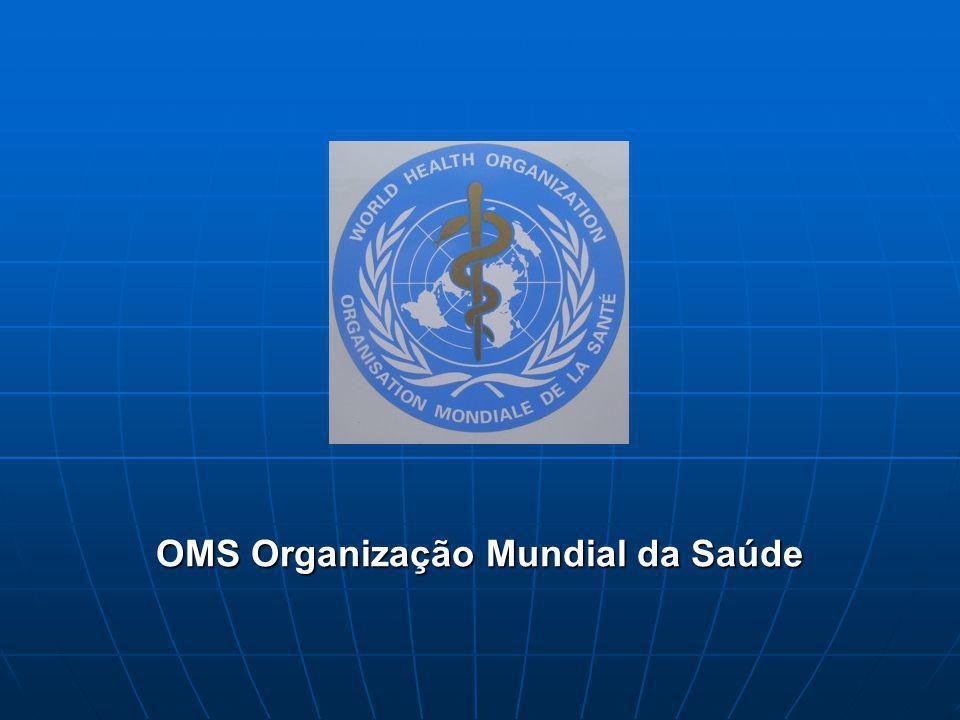 OMS Organização Mundial da Saúde
