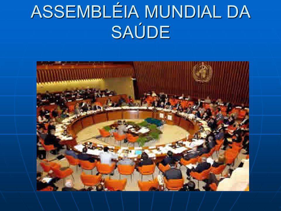 ASSEMBLÉIA MUNDIAL DA SAÚDE