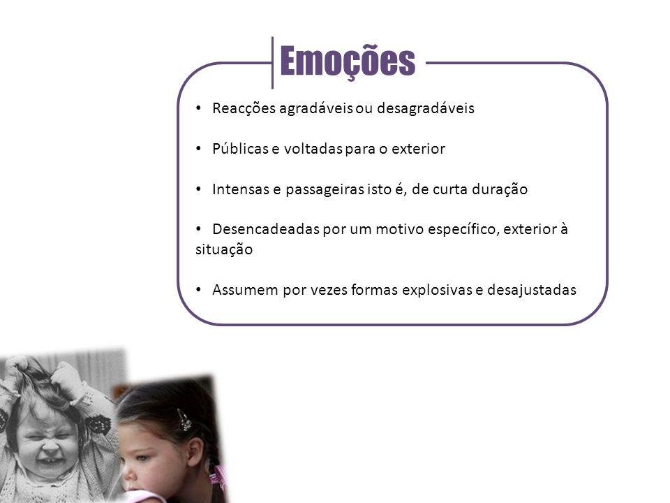 António Damásio Neurocientista luso-americano Diferencia emoções e sentimentos, de um modo diferente Associa as emoções a alterações corporais Associa sentimentos à experiência consciente