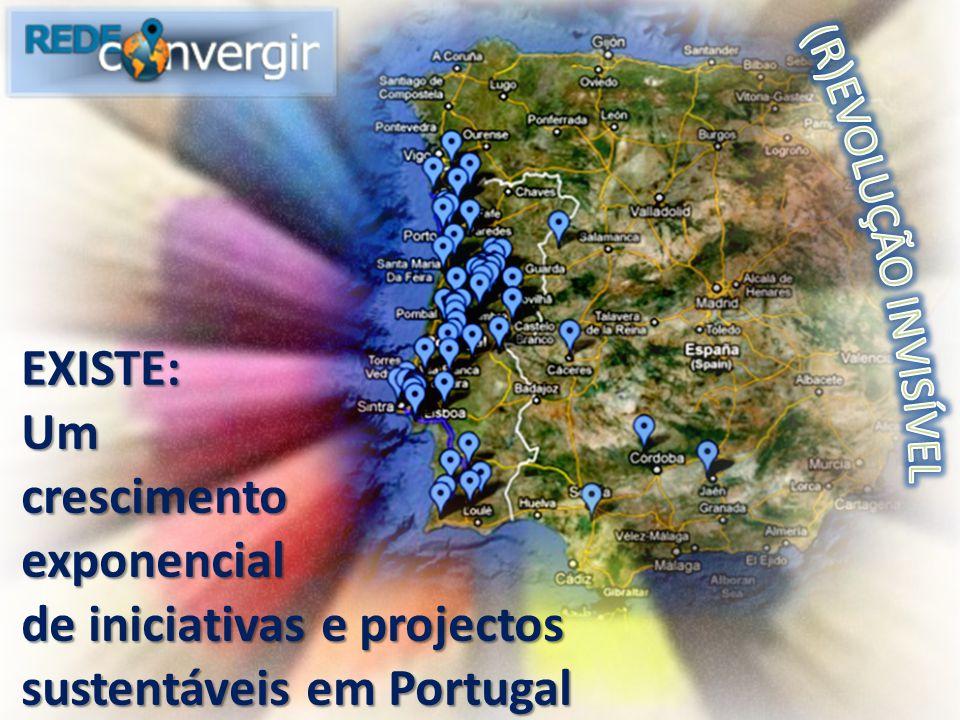 EXISTE:Umcrescimentoexponencial de iniciativas e projectos sustentáveis em Portugal